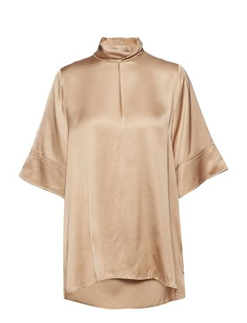Hope Twist Shirt Beige