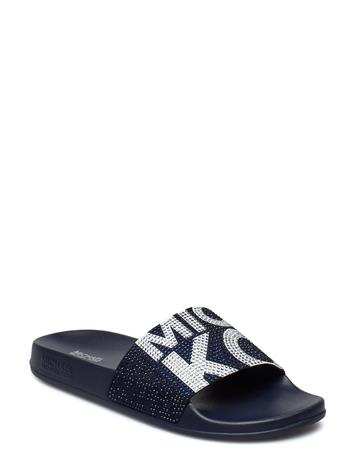 Michael Kors Shoes Gilmore Slide Musta