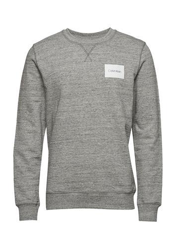 Calvin Klein Heather Logo Sweatshirt Harmaa