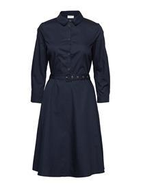 Vila Vinyala 3/4 Midi Dress Sininen