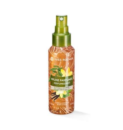 Yves Rocher Vartalo- ja hiussuihke - Bourbonvanilja, 100 ml