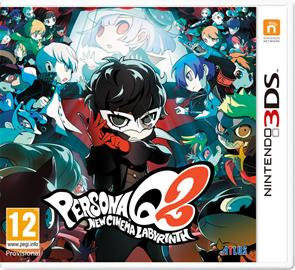 Persona Q2: New Cinema Labyrinth, Nintendo 3DS -peli