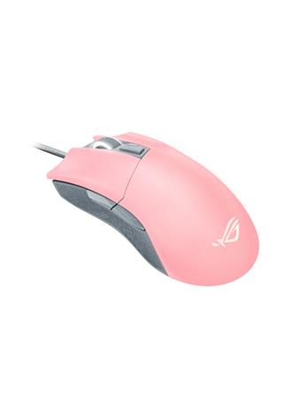 Asus ROG Gladius II Origin Pink LTD, langallinen pelihiiri
