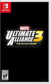 Marvel Ultimate Alliance 3: The Black Order, Nintendo Switch -peli