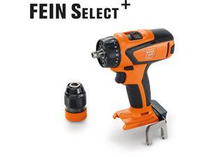 Pora/ruuvinväännin Fein ASCM 18 QSW Select; 18 V (ilman akkua ja laturia)