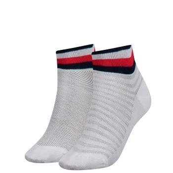 Tommy Hilfiger 2 pakkaus Women Resort Short Sock * Ilmainen Toimitus *