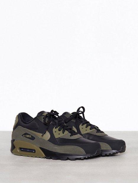 buy popular 68975 5c995 Nike Sportswear Air Max 90 Leather Tennarit   kangaskengät Musta    Hintaseuranta.fi