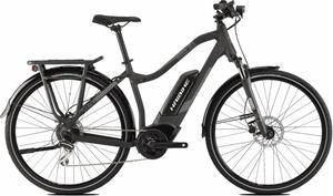 HAIBIKE SDURO Trekking 1.0 Naiset sähköavusteinen retkipyörä , harmaa/musta