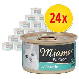 Miamor Pä¢tä© 24 x 85 g - kalalajitelma