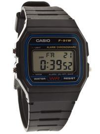 Casio F-91W-1YEF black