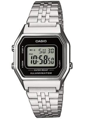 Casio LA680WEA-1EF silver / black