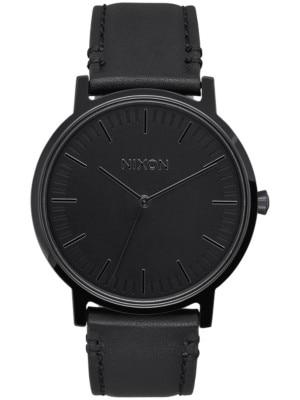 Nixon The Porter Leather all black