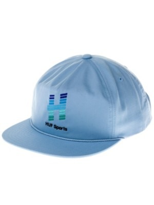 HUF Network Snapback Cap light blue