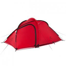 NatureHike Hiby 3 ultrakevyt 3 hengen teltta eteisellä - Valkoharmaa