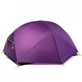 NatureHike Mongar ultrakevyt 2 hengen teltta - Violetti, Teltta