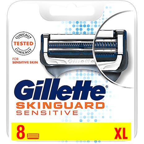 Gillette SkinGuard Sensitive, vaihtoterät 8 kpl