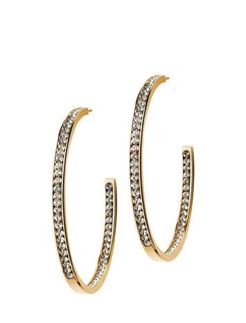 Edblad Andorra Earrings Large Gold Kulta