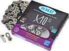 KMC X10 ketjut 10-vaihteinen , musta/hopea