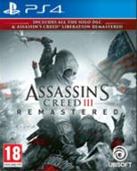 Assassin's Creed 3 (III) Remastered + Liberation Remastered, PS4-peli