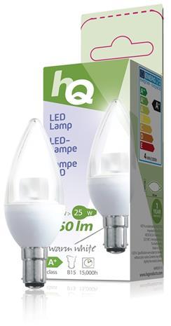 LED-lamppu, kynttilä, B15 3,5 W 250 lm 2700K