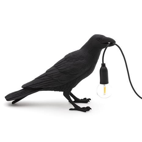 Seletti Bird Waiting, pöytävalaisin