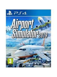 Airport Simulator 2019, PS4 -peli