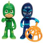 PJ Masks (Pyjamasankarit) Light-Up Gekko and Night Ninja