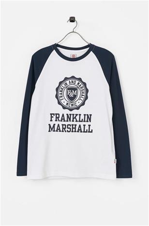 "Franklin & Marshall"" ""Pusero Crest Raglan Layer"