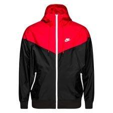 Nike Takki Windrunner NSW HD - Musta/Punainen/Valkoinen