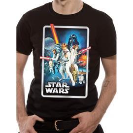 Star Wars - Vintage Poster T-Paita