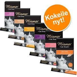 Megapakkaus Miamor Cat Snack -lajitelma - 35 x 15 g (6 makua)