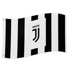 Juventus Lippu Logo - Musta/Valkoinen