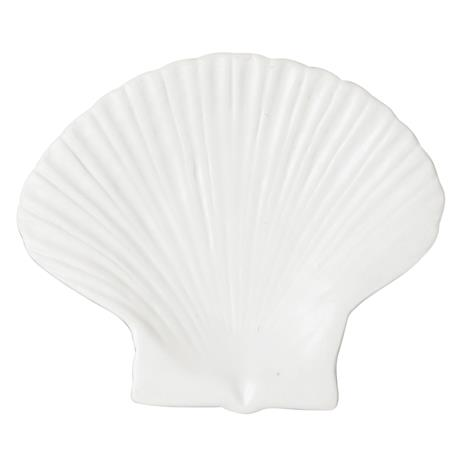 By On Shell Plate 15,5x13 cm, White
