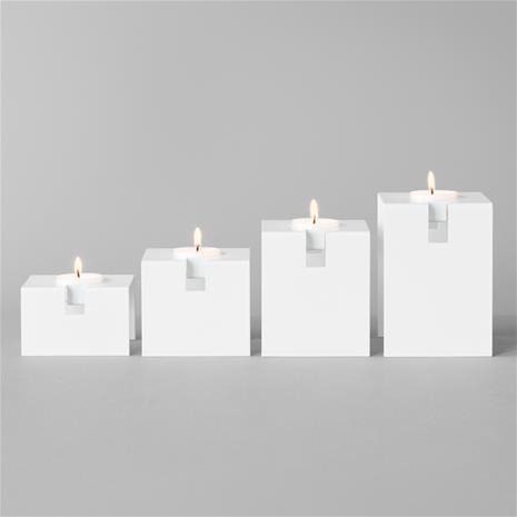 Royal Design Gloria Pinottava Kynttilälyhty Valkoinen, 4kpl