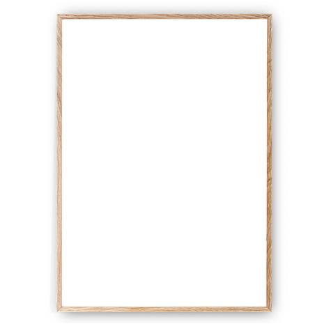 Paper Collective Kehys Solid Oak 50x70 cm