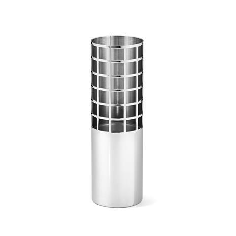 Georg Jensen Matrix Tube Vas Small, Stainless Steel
