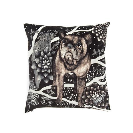 Nadja Wedin Design Franska Hunden Tyynynpäällinen Sametti 48x48cm