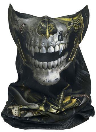Spiral Steampunk Reaper Pyöreä huivi monivärinen