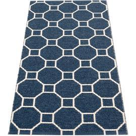Pappelina Rakel Rug 70x150 cm, Dark blue/Vanilla