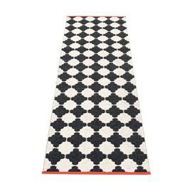 Pappelina Marre Matto 70x225 cm, Black/Vanilla/Coral