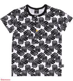 PikkuSet Laku lasten nappilista t-paita