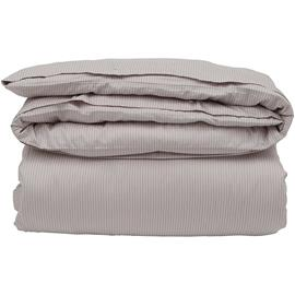 Lexington Hotel Tencel Stripe Duvet 150x210 cm, Beige/White