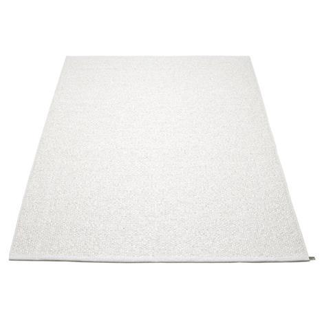 Pappelina Svea Matto 180x260 cm, Metallic White/White