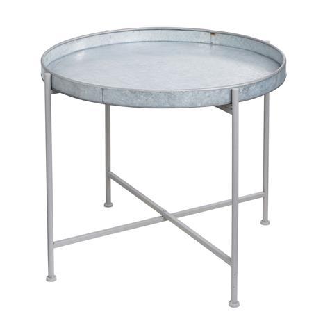 Ernst Kirchsteiger Tarjoilupöytä ä˜70cm H50cm, Galvanisoitu