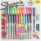 Tussi Sharpie Color Burst 24 kpl