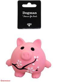 Dogman Latex-possu roosa koiralelu