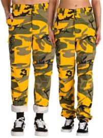 Rothco BDU Pants stinger yellow Miehet