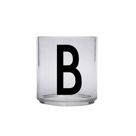 Design Letters Kids Personal Drinking Glass, B