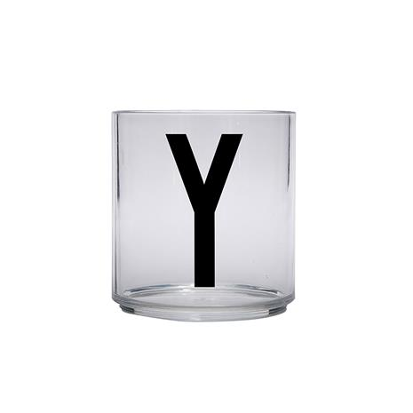 Design Letters Kids Personal Drinking Glass, Y