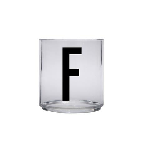 Design Letters Kids Personal Drinking Glass, F